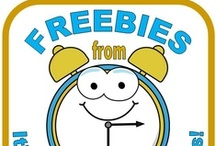 Barb Evans' Freebies on TpT / Free products from my TpT Store, It's About Time, Teachers.