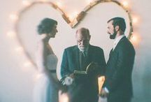 V O W S   | / wedding and engagement ideas / by Patty Clariday