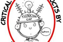 Critical Thinking & Problem Solving / Resources from my TPT store that promote critical thinking and problem solving. #criticalthinking  #problemsolving  #HOTS  #enrichment   #GATE   #itsabouttimeteachers