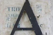 Letters & Numbers / Letters, numbers, lettering, graphic design