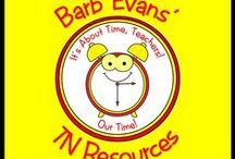 Barb Evans' TN Resources / Resources available in my TN shop @ http://www.teachersnotebook.com/shop/itsabouttimeteachers