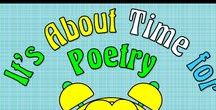 It's About Time for Poetry (in the Classroom) / Poetry can support lessons in virtually any curricula.  Just check out these ideas and resources to learn how.  Collaborators, please pin any lessons, products, and/or blog posts that DIRECTLY SUPPORT using poetry in the classroom.   To join this board, email me @ itsabouttimeteachers@gmail.com and follow the board.