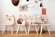 Oeuf Play Table & Chairs / Kids Modern Design Play Table and Chairs Furniture / by Oeuf NYC