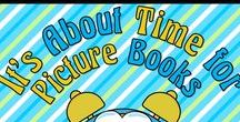 It's About Time for Picture Books / It takes time to create lessons about your favorite picture books.  You can save lots of time by perusing these resources and ideas that are already completed.    Collaborators, please pin any lessons, products, and/or blog posts that DIRECTLY SUPPORT using picture books in the classroom.   To join this board, follow it and then email me @ itsabouttimeteachers@gmail.com
