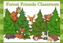 Forest Friends Classroom Theme / Forest themed decor, crafts, and lessons. / by Barb Evans