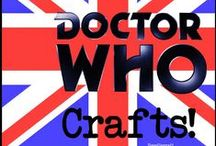 Dr who | gifts, crafts and furniture ideas / I'm the Dr.....who? Yes Dr Who.  Come in to the tardis of Dr Who and have fun with these amazing crafts, gifts and projects.  Looking for Dr Who bedroom ideas? Look no further, we have wreaths, cross stitches and furniture ideas