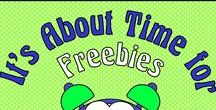It's About Time for Freebies / Please pin any FOREVER FREE lessons, products, and/or blog posts that DIRECTLY SUPPORT teaching and teachers.  To join this board, follow it and email me @ itsabouttimeteachers@gmail.com
