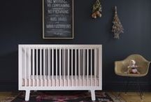Oeuf Limited Edition Sparrow Cribs / Our best selling crib in petal pastel pink and slate. / by Oeuf NYC
