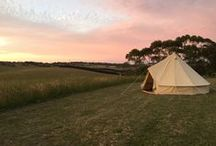 Beautiful Bell Tents / Twilight Glamping's sweet bell tents