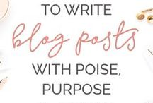 BLOG & WEBSITE TIPS