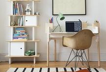 Oeuf Brooklyn Desk / Oeuf Brooklyn Desk Furniture Modern Kids Family Interior Design / by Oeuf NYC