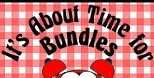It's About Time for Bundles / Bundles save us time and money.  So let's collaborate to create an easy source for finding bundles.  Please pin any product bundles that DIRECTLY SUPPORT teaching.   Your bundles can be for any subject and any grade level.    To join this board, email me @ itsabouttimeteachers@gmail.com