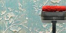 Patroon & decoratierollers / Op dit moodboard vind je inspirerende ideeën en DIY projecten met patroonrollers. Een patroonroller of decoratieroller is een superleuk stukje gereedschap om snel en gemakkelijk motieven en dessins aan te brengen op meubels, muren of accessoires.  #patroonrollers #decoratierollers #verfrollers #patterned #paintrollers.