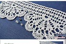 [s] Crochet lace tape [+pattern]