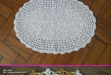 [s] Crochet carpet [+pattern]