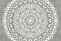 Mandala's / Mandala love #boho #bohohome #bohostyle