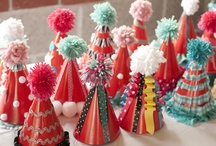 Handmade Party Hats / Handmade party hats will make your party stand out!