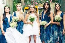 Blue Wedding / Blue wedding inspiration board featuring ceremony, reception, floral ideas and more. / by Minted
