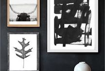 Black and White / Black and white imagery to inspire your home decor and fashion.