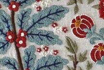 NEEDLEWORKS / Embroidery, needlepoint, cross stitch, crewel work