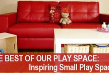 Kid's Spaces / Great ideas for decorating and organising kids spaces - nurseries, bedrooms and playrooms. / by Christie @Childhood101