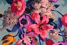 FLOWER POWER / Flowers and floral images, designs and prints
