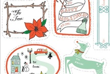 Free Holiday Printables -from around the web / by B.Nute productions