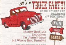 Vintage Truck Party