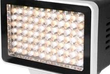 LedPro on-camera lights / by Alphatron Broadcast