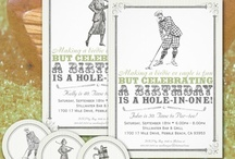 Fore! Fabulous Vintage Golf Fun / Are you throwing a golf party? A golf luncheon? A golf tournament? Make your gathering stylish with these fabulous Vintage Golf ideas