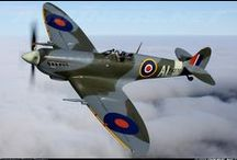 British Spitfires and Aircraft / British Spitfire and Supermarine Aircraft for the most part. Although, I will post any British aircraft in here I like. / by Rocketfin Hobbies
