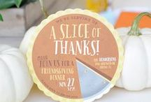 Thanksgiving / Celebrate Thanksgiving with DIYs, inspiration, and ideas from Minted.