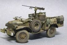 Military Models / Scale Military Models, Maquettes, Armor Models and Dioramas. Tanks, Jeeps, German Armor, reference, how-to videos. / by Rocketfin Hobbies