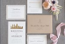 Big City Wedding / New York, London, Tokyo, here we come! Inspiration for a modern wedding in the big city. / by Minted