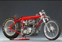 Motorcycles / I like the style of older bikes, like Triumphs, Ducati,  and such. So these are some more of the interesting images I come across. / by Rocketfin Hobbies