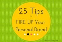 All Things Personal Brand / Tips, Tricks and Truths about building a solid personal brand!  #personalbrand
