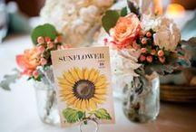 Garden Wedding / An enchanted garden themed wedding inspiration board for the bride planning a romantic flora and fauna centered nuptials.