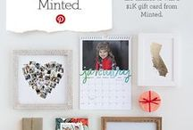 Minted Holiday Gift List Contest / Holiday gifting inspiration from the Minted community of independent artists.