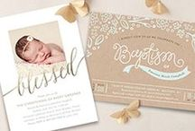 Religious Milestones / Event planning inspiration for all your spriritual milestones.  / by Minted