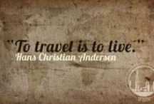 """Travelling Tips / """"To travel is to live"""" Hans Christian Andersen"""