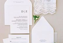 Crisp White Wedding / Keep every detail of your wedding day chic and clean with these timeless ideas.