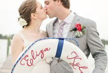 Nautical Wedding / A nautical inspired wedding board to help plan your special day by the sea, ocean, or beach to a tee.