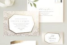 Wedding Invitations & Stationery / Inspired by pretty wedding stationery designs from the Minted community of artists.
