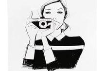 { Fashion Illustration & Artwork } / The chicest drawings and designs from fashion illustrators and artists. / by Jia Collection