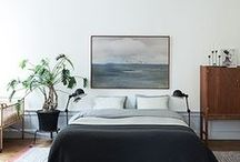 Bedroom Design / Interior design Ideas and inspiration to help you style your bedroom spaces from Minted.