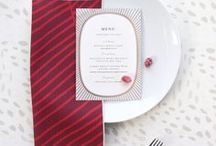 Winter Holiday Decor / Minted Christmas and Winter holiday party decor and festive tablescape inspiration for your seasonal celebrations curated from designs created by our community of independent artists.
