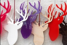 It's all about the ANTLERS / Antlers are everywhere and these are my favorites