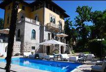 Croatia / Historic hotels, romantic villas & castle hotels in the Istrian seaside resorts of Lovran-Opatija, Rovinj and Fazana north of Pula in Croatia