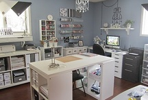 My *old* Craft Room / Love to spend time in my craft room