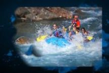 Rafting - Glacier National Park  / Whether you want fun, splashy whitewater or a relaxing scenic float trip, we have the trip for you.  Montana Raft offers half, full, or multi day trips on the Middle Fork and the North Fork of the Flathead Rivers (bordering Glacier National Park). / by Glacier Guides and Montana Raft Company
